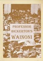Cover of Professor Bickerton's Wainoni