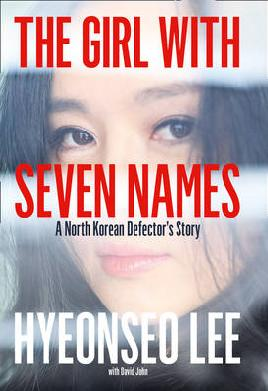 Cover of The girl with seven names