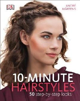 Cover of 10-minute hairstyles