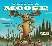 Cover of This is a moose