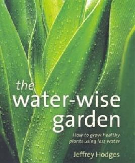 Book cover of the water-wise garden