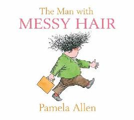 Cover of the man with messy hair
