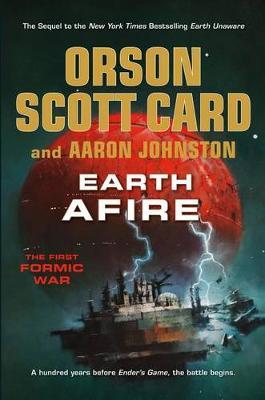 Cover of Earth Afire by Orson Scott Card