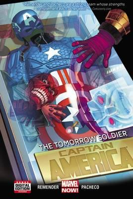 Cover of Captain America the tomorrow soldier