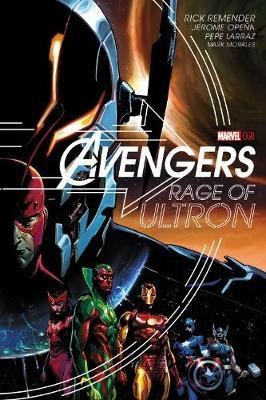Cover of Avengers Rage of Ultron