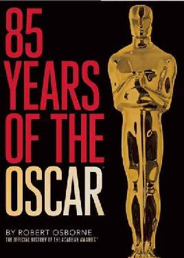 Book cover of 85 years of the Oscar