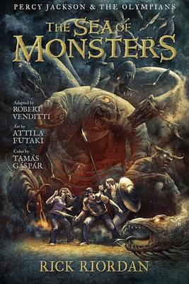 Cover of The Sea of Monsters