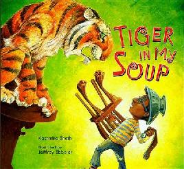 Cover of Tiger in my soup.