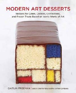 Book cover of Modern Art Desserts