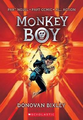 Cover of Monkey Boy