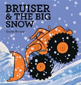 Cover of Bruiser and the big snow