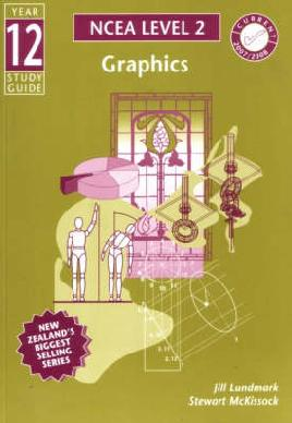 """Cover image of """"Year 12 graphics study guide"""""""