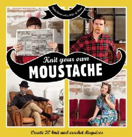 cover for Knit your own moustache