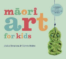 Cover of Māori art for kids