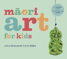 Cover of Māori art for kids