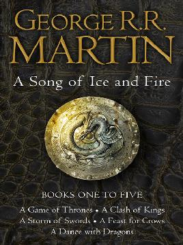 Cover of A song of Ice and fire