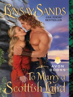 Cover of to marry a scottish laird