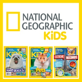 Logo for National Geographic kids