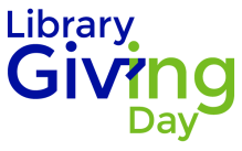 Library Giving Day stacked color logo