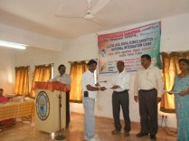 certificate distribution by chairman kv1 vijayawada with venue principal
