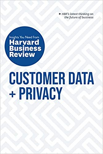 Book Cover: Customer Data and Privacy