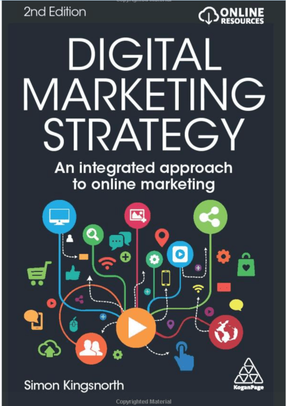Book Cover: Digital Marketing Strategy: An Integrated Approach to Online Marketing