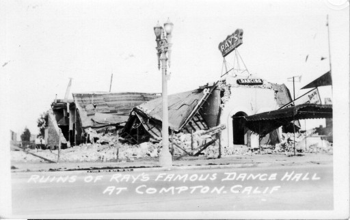 Ruins of Ray's Famous Dance Hall