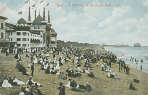 Surf and Bath House at Ocean Park, 1907