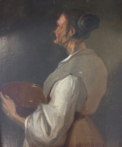 Woman with Bowl