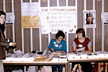Reproductive rights table of publications. Copenhagen, 1980