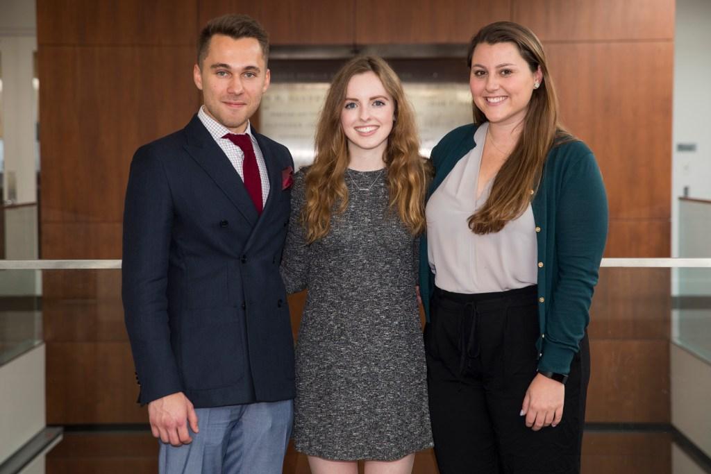 Nikita Vyugov, Alanna Quinn, and Fiona Shorrock