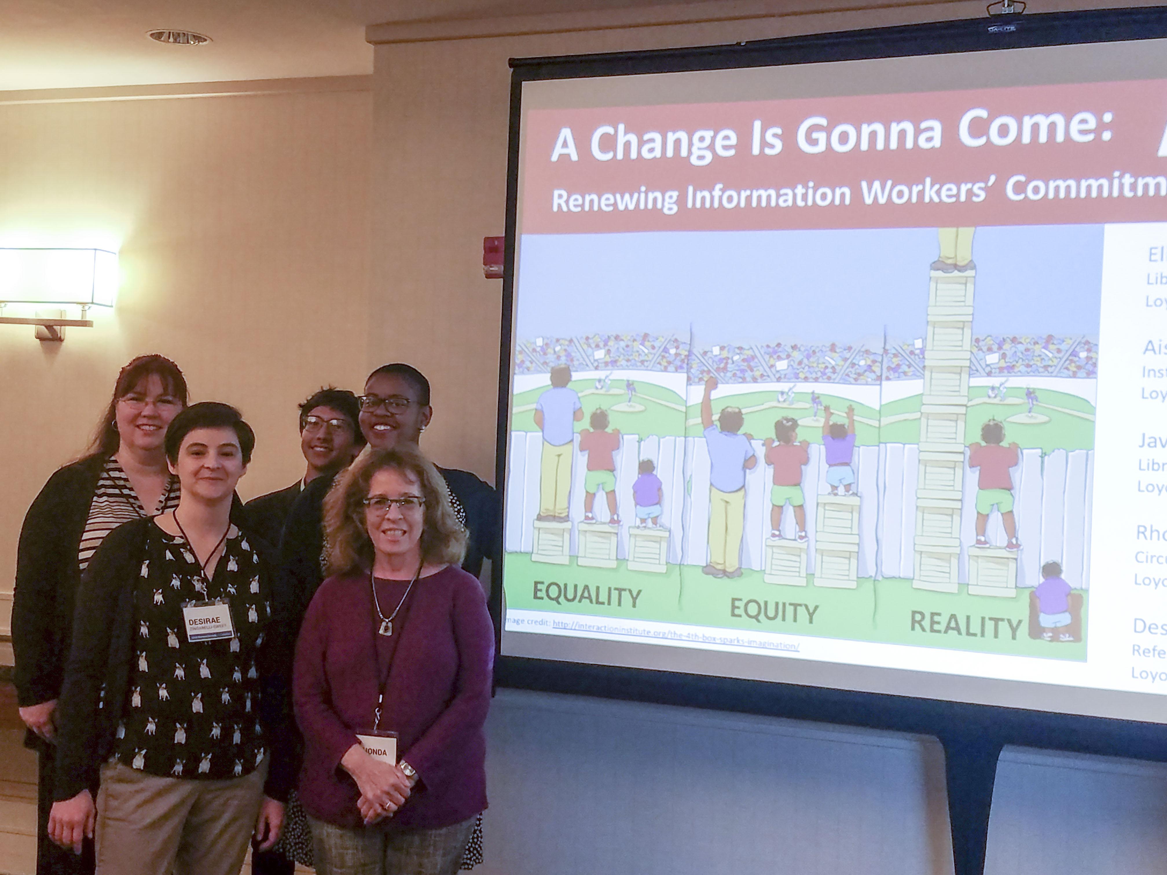 LMU Librarians at CARL conference