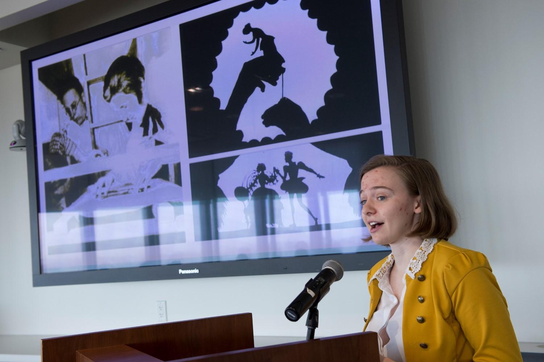 Emily Rawson speaking about Lotte Reiniger