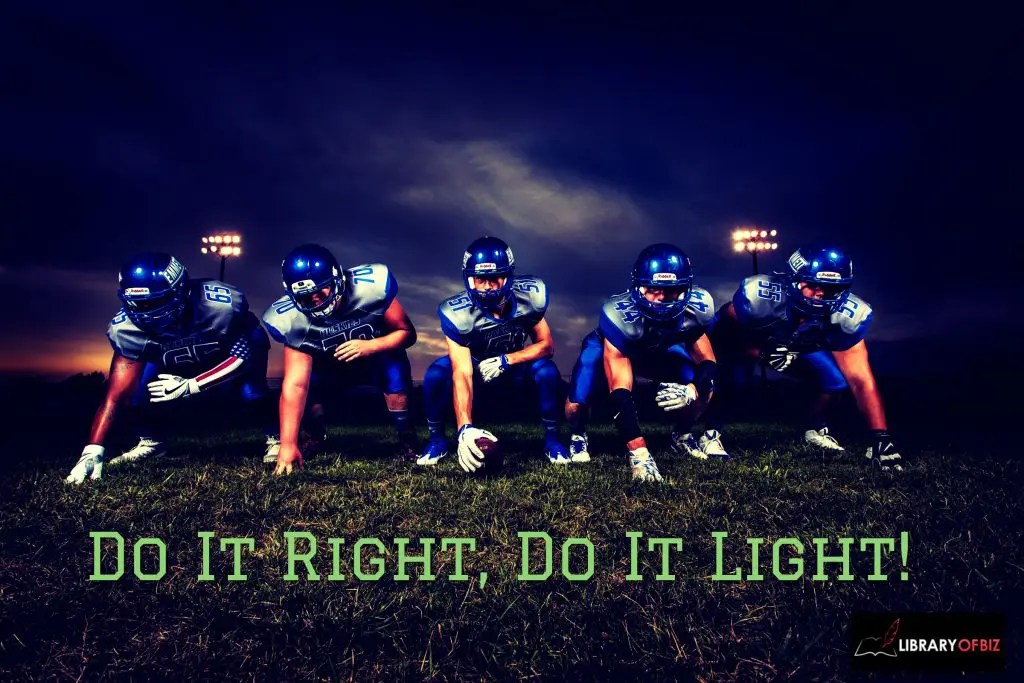 Check out how football can carry over to the #business world.