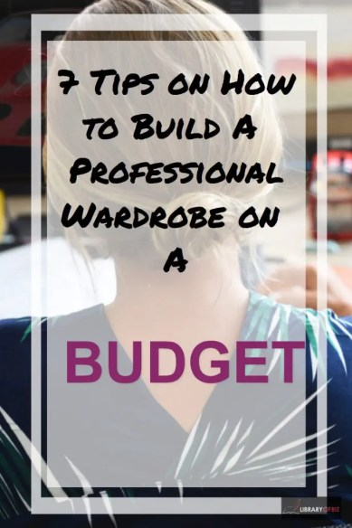 Want to build a professional wardrobe on a budget? Check out this post to help you save #money!