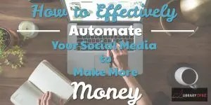Check out how you can automate your post to save you time and make more #money!