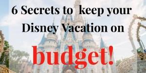 disney budget