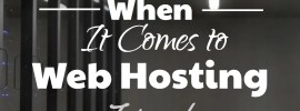 Types of Web Hosting - What to Look For