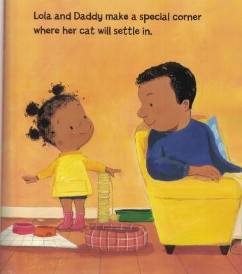 lola gets a cat e
