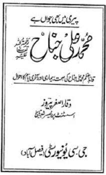 Muhammad Ali Jinnah by Waqar Asghar Download Free Pdf