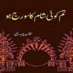 Tum Koi Sham Ka Sooraj Ho by Shazia Ch Pdf