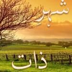 Shehr e Zaat Novel By Umera Ahmad Pdf