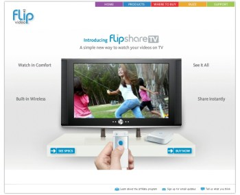 Flipshare TV: Flip Videos on Your  TV