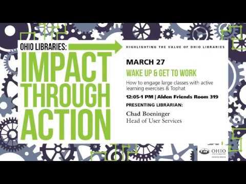 Impact Through Action presentation slide