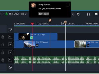 Collaborative video editing on Libravid