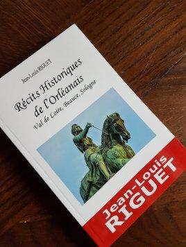 Première couverture de Récits Historiques de l'Orléanais de Jean-Louis Riguet