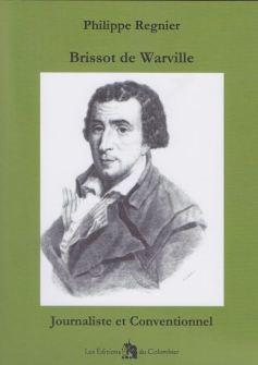 Première de couverture de Brissot de Warville par Philippe Régnier