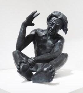 L'Aliéné, un bronze de Anne Boisaubert