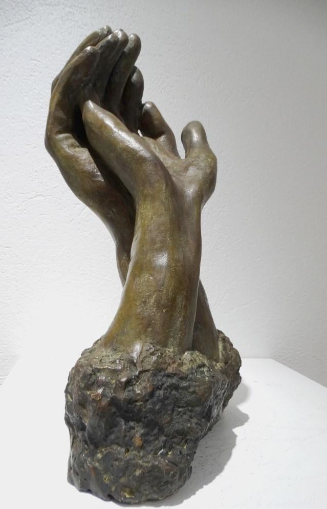 Promesse, un bronze de Anne Boisaubert