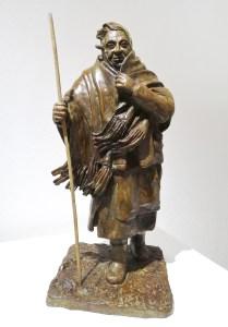 Un si long chemin - Bronze de Anne Boisaubert